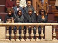 Minuto de silêncio no Parlamento por Eusébio