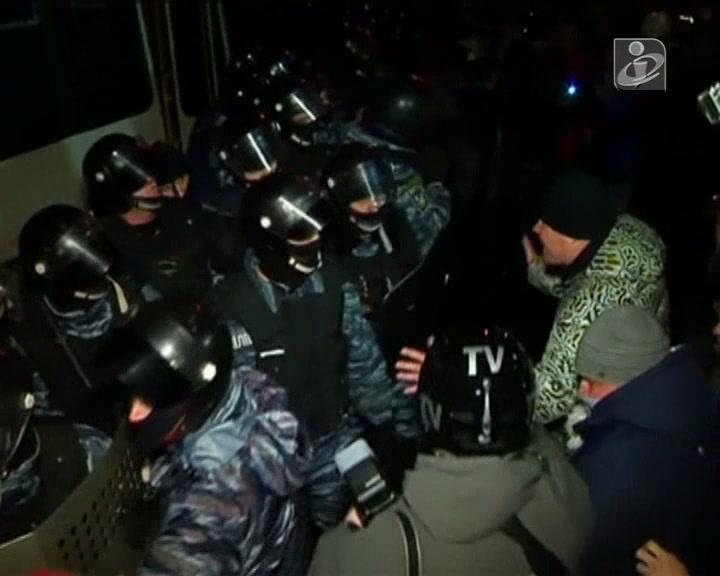Protesto em Kiev