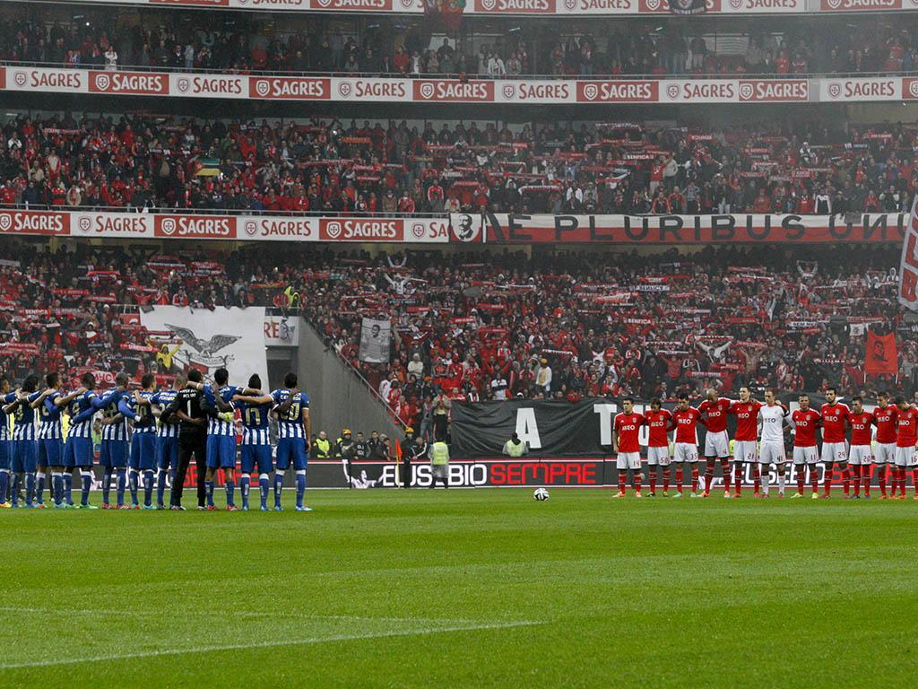 Homenagem a Eusébio no Benfica-FC Porto