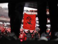 Homenagem a Eusébio no Benfica-FC Porto (REUTERS)
