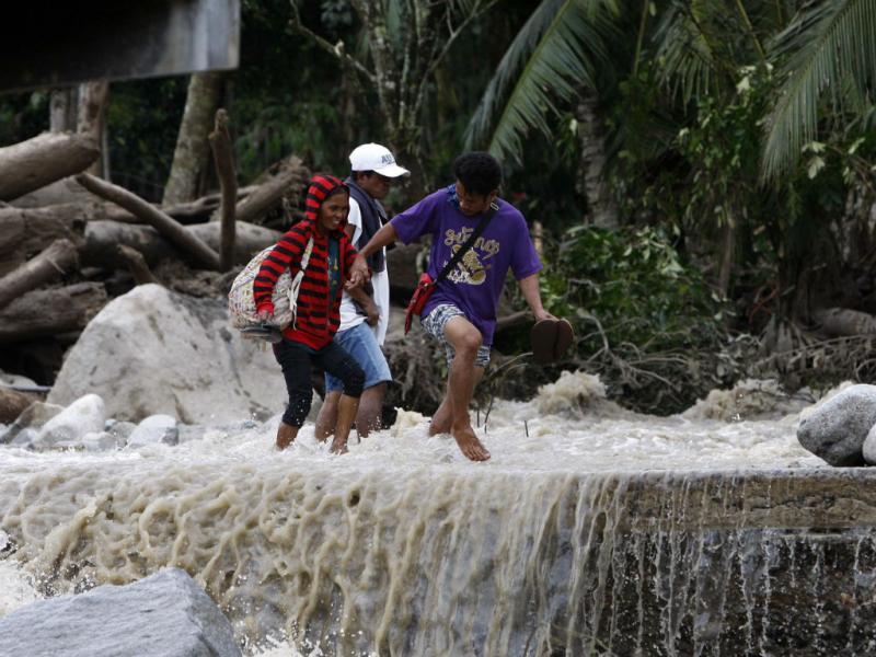 Mau tempo nas Filipinas [Reuters]