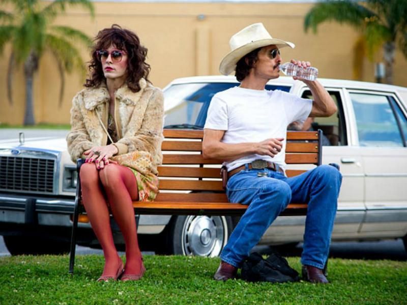 Matthew McConaughey e Jared Leto em «O Clube de Dallas»