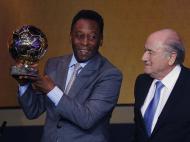 Pelé nos Prémios Bola de Ouro 2013 (REUTERS)