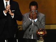 Pelé nos Prémios Bola de Ouro 2013 (EPA)