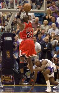 O último ponto de Michael Jordan