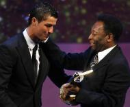 Cristiano Ronaldo melhor do mundo em 2008 (Reuters)