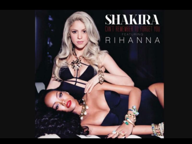 Shakira estreia single com Rihanna (Reprodução Youtube)