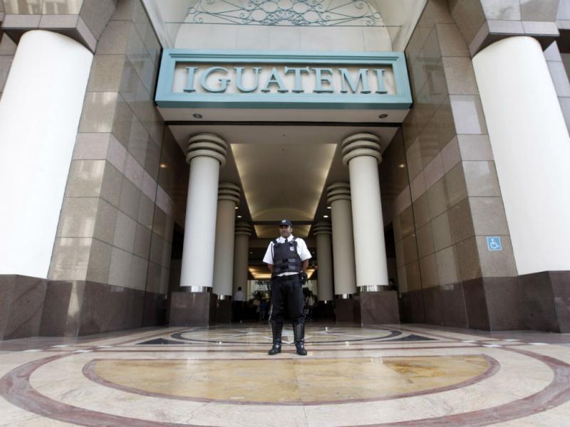 Centro comercial Iguatemi em São Paulo, Brasil (REUTERS)