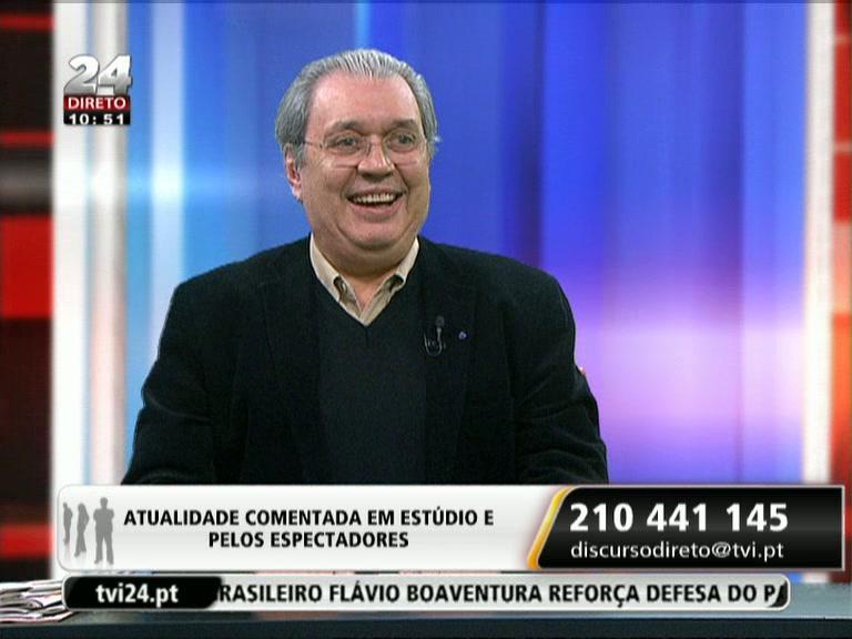 Fernando Tordo na TVI24