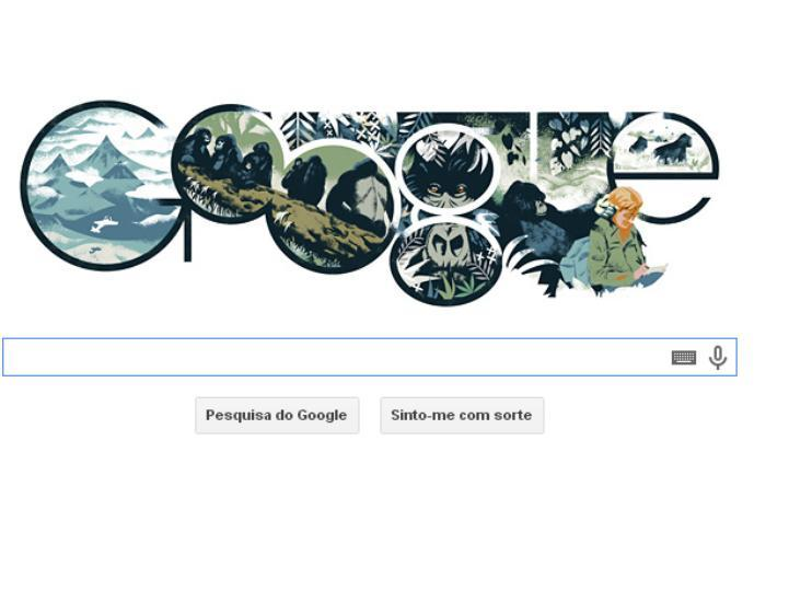 Dian Fossey no Google