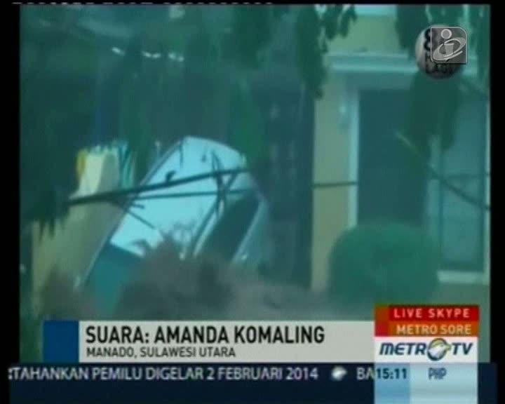 Cheias na Indonésia