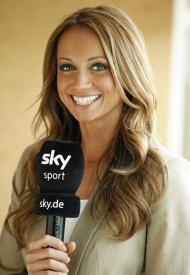 Kate Abdo, a nova apresentadora da Sky Sports