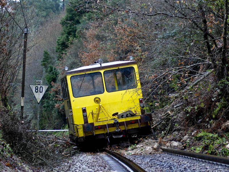 Descarrilamento na linha do Douro (Lusa)