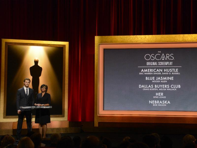 Anúncio dos nomeados aos Óscares (Reuters)