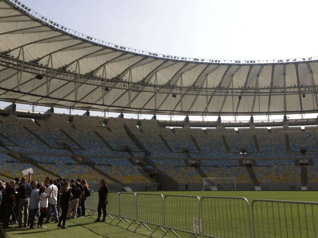 FIFA no Brasil, Maracanã foi a primeira paragem