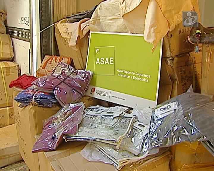 ASAE apreende artigos contrafeitos no valor de 2 milhões de euros