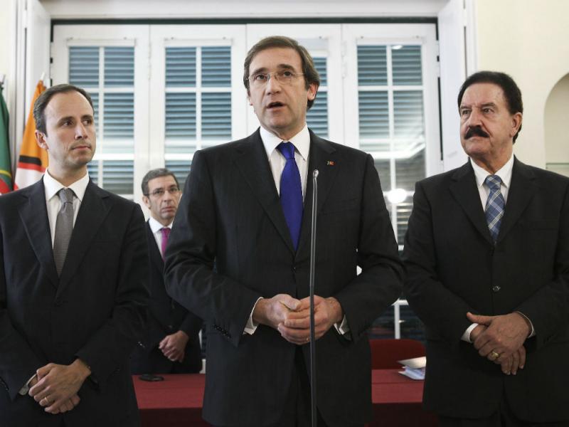 Passos formaliza recandidatura à presidência do PSD (LUSA)