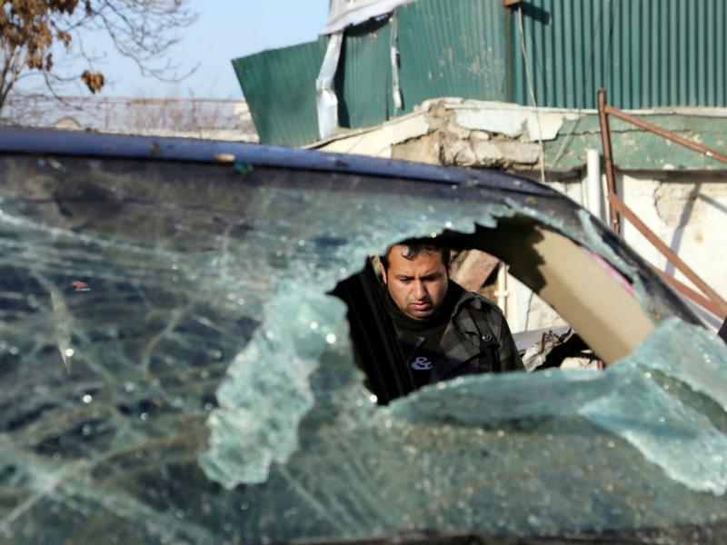 Ataque a restaurante em Cabul (EPA/LUSA)