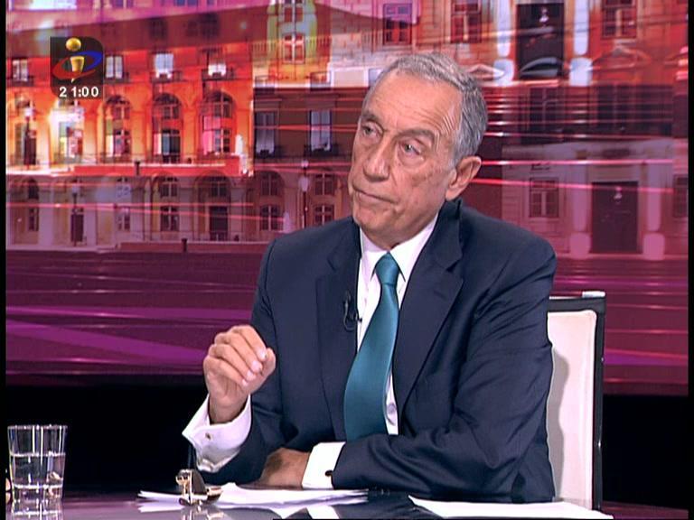 Presidenciais: veja a resposta de Marcelo na íntegra