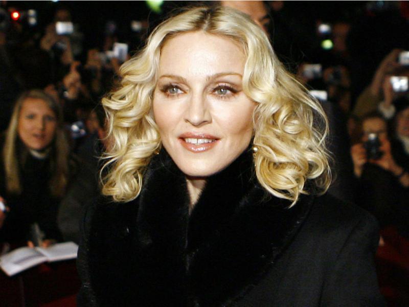 Madonna no festival de cinema de Berlim, em 2008 (Reuters)