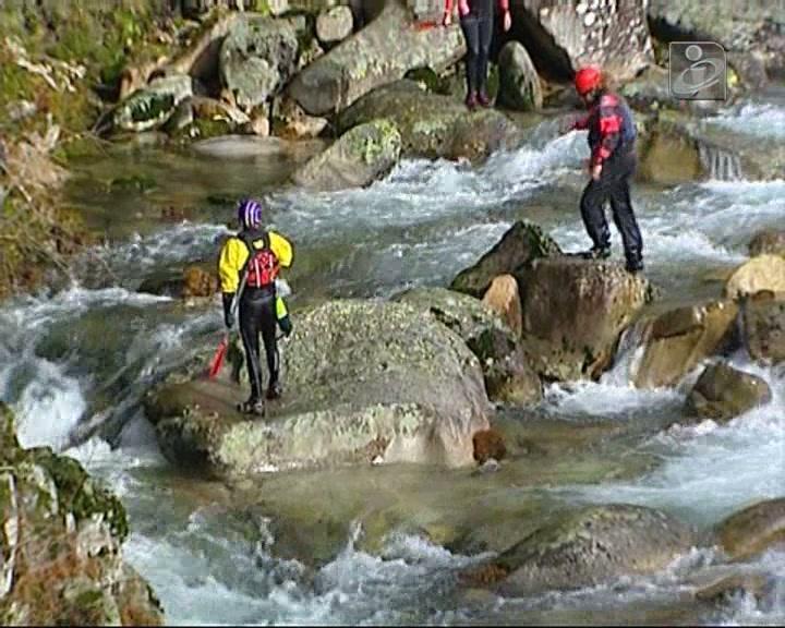 Canoísta morre no rio Adrão
