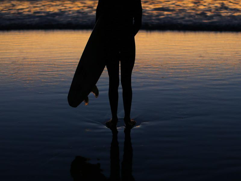 Surf: sol de Inverno na Califórnia (Reuters)