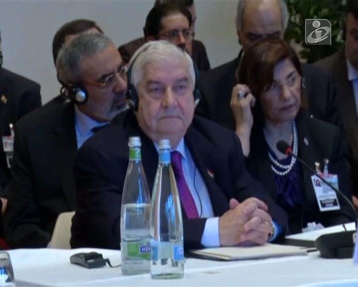 Conferência sobre a paz na Síria arranca na Suiça