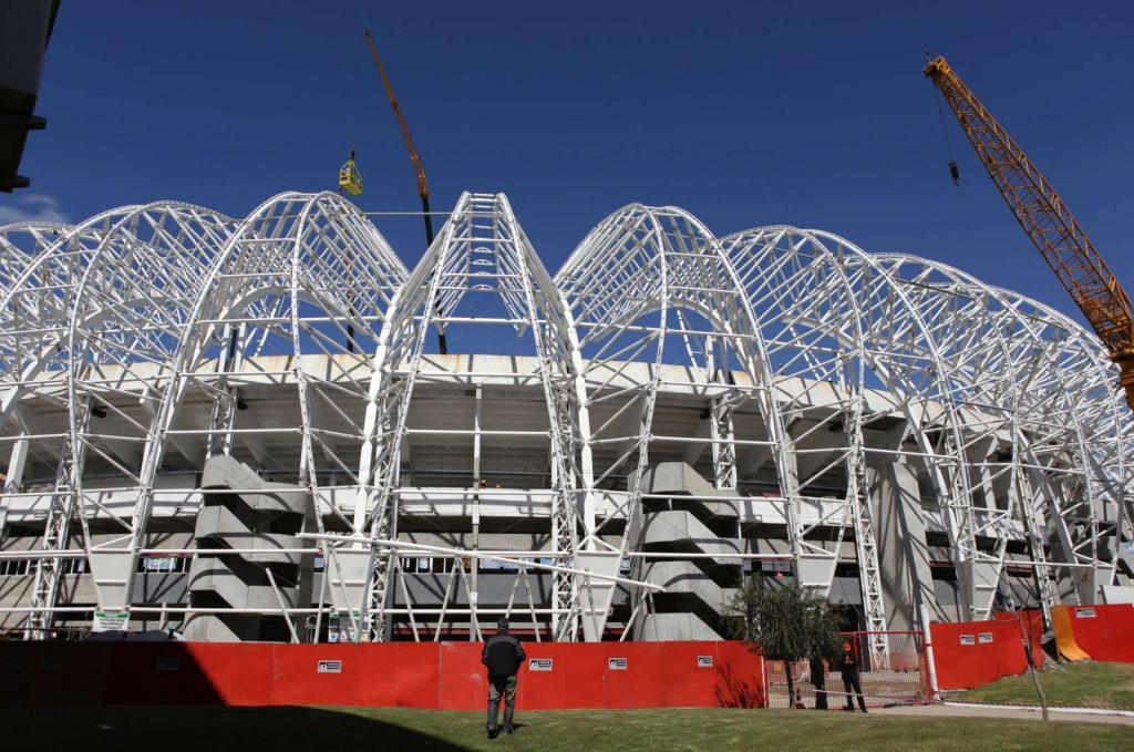 Estádio Beira-Rio  Porto Alegre (Reuters))