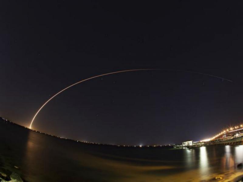 NASA lançou para o espaço satélite de comunicações [EPA]