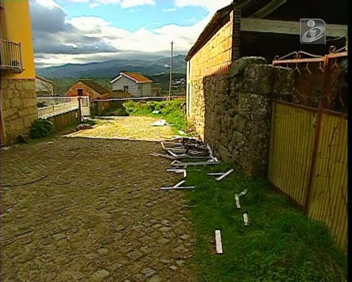 Fogo em casa de Viseu fere duas crianças com gravidade