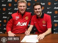 David Moyes e Juan Mata