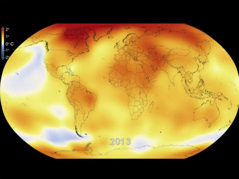 Vídeo da Nasa «prova» aquecimento global