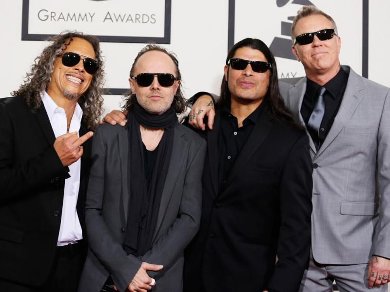 Metallica na 56ª gala dos Grammy Awards (Reuters)