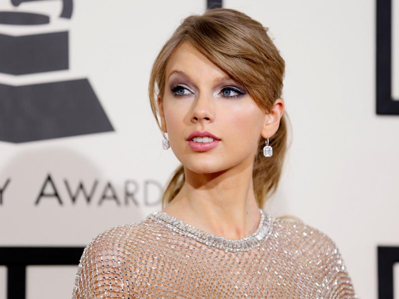 Taylor Swift na 56ª gala dos Grammy Awards (Reuters)