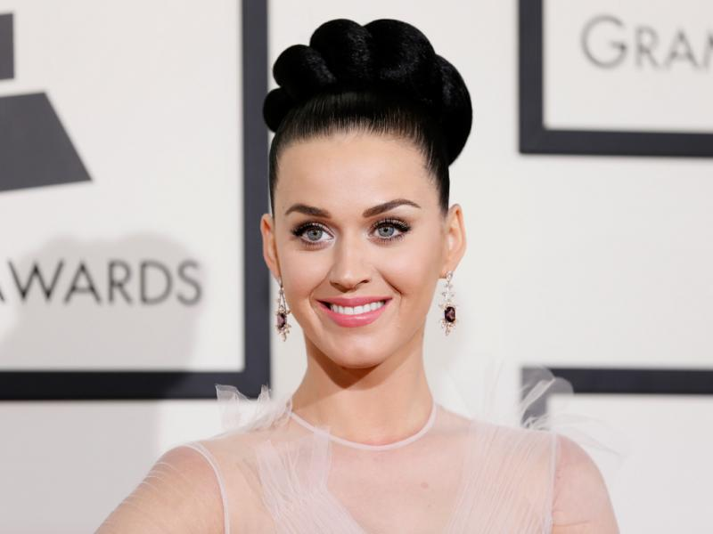 Katy Perry na 56ª gala dos Grammy Awards (Reuters)