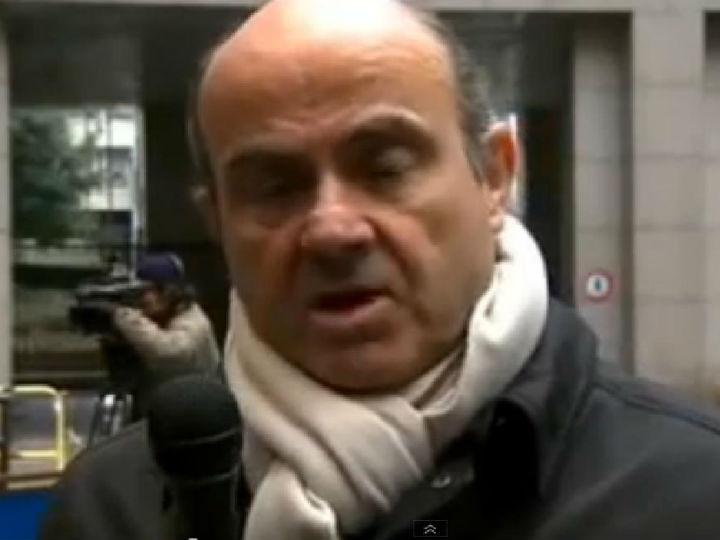 Luís de Guindos (Foto YouTube)