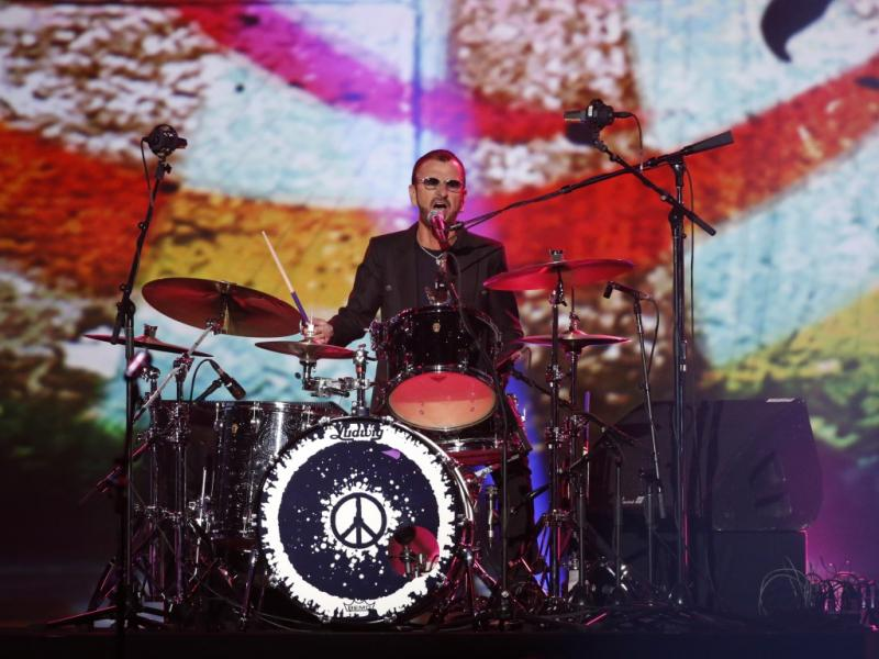 Ringo Starr no concerto de tributo aos Beatles em Los Angeles (Reuters)