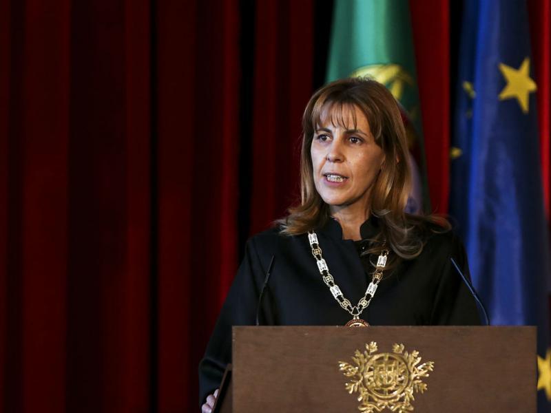 Elina Fraga, Bastonária da Ordem dos Advogados, na Abertura do Ano Judicial 2014 (LUSA)
