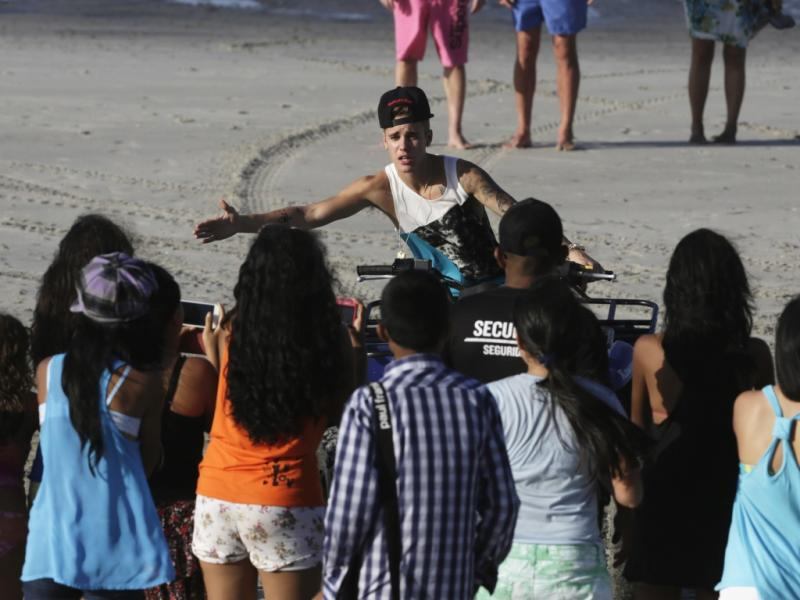 Justin Bieber na Cidade do Panamá (Reuters)