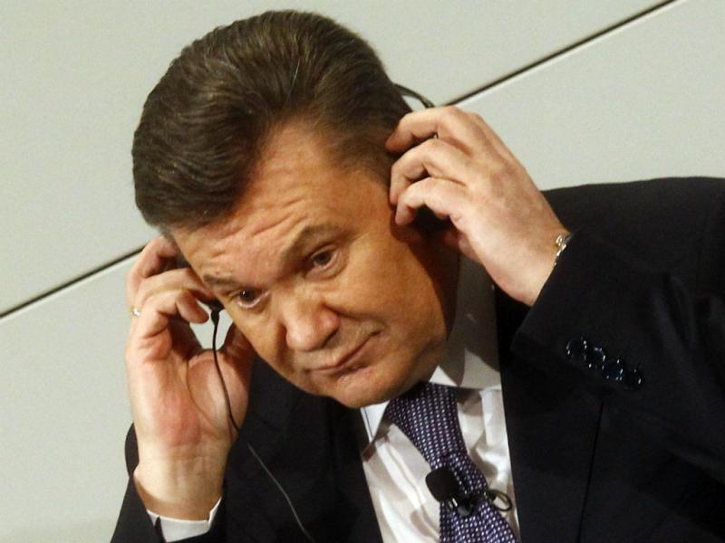 Presidente ucraniano, Viktor Yanukovych (REUTERS)