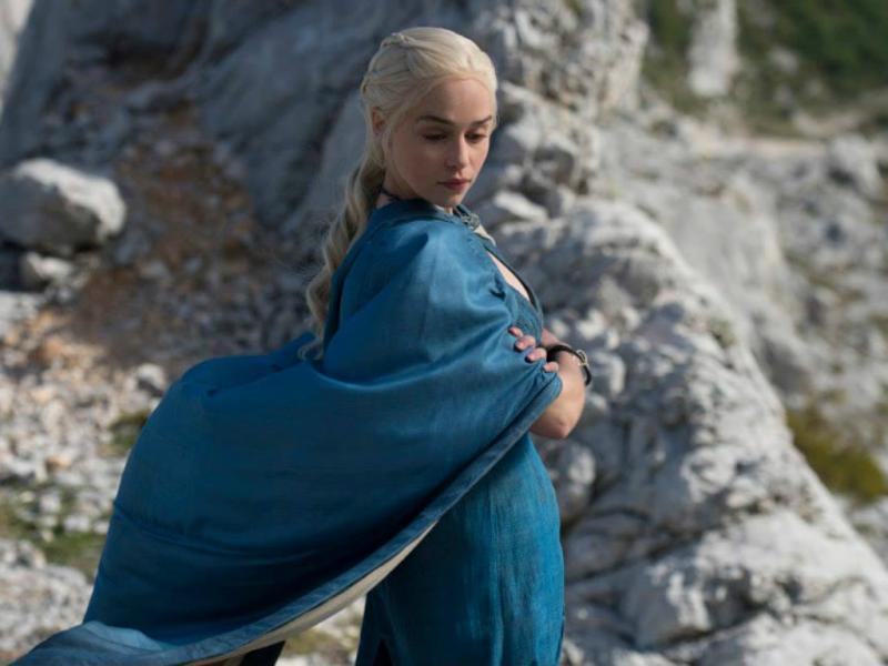 Daenerys Targaryen - «Guerra dos Tronos» [Facebook]