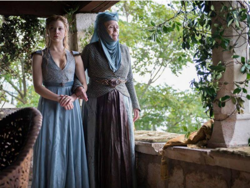 Margaery e Olenna Tyrell - «Guerra dos Tronos» [Facebook]