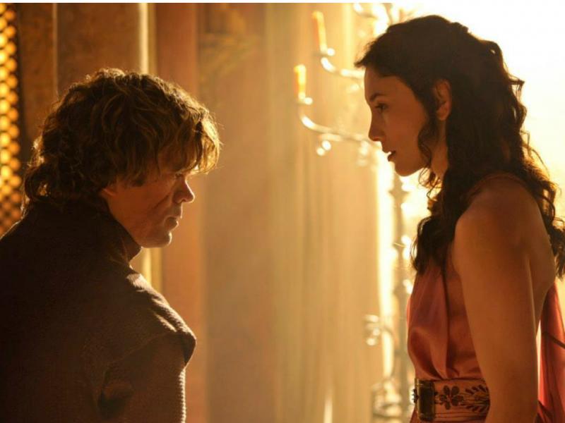 Tyrion e Shae - «Guerra dos Tronos» [Facebook]