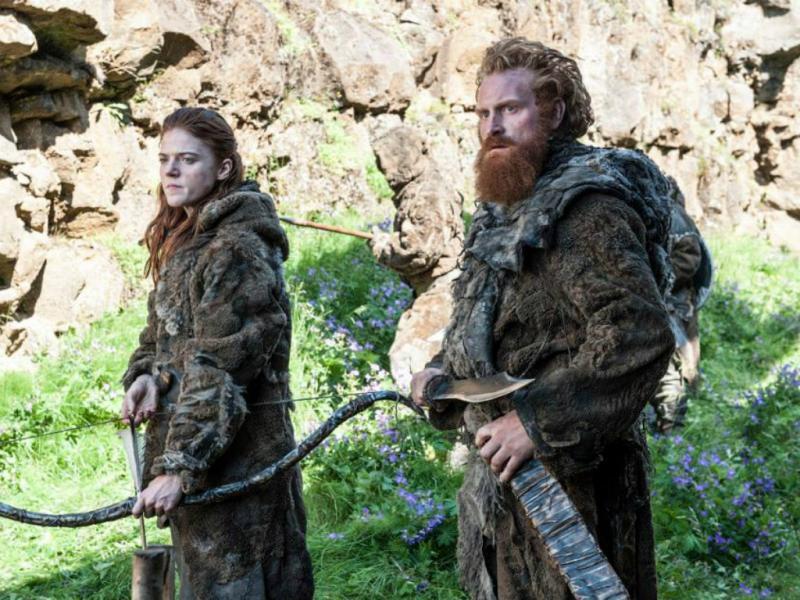 Ygritte e Tormund - «Guerra dos Tronos» [Facebook]