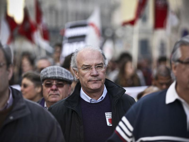 Fevereiro 2014: manifestação da CGTP (Lusa/Mário Cruz)