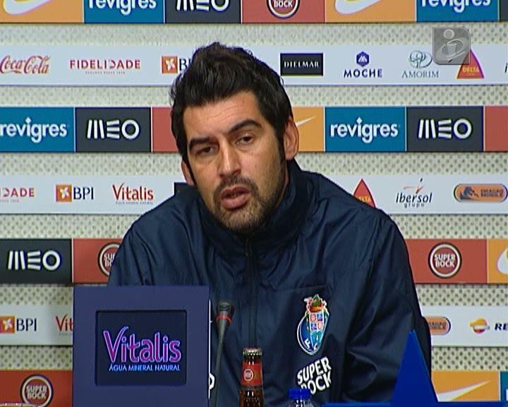 Paulo Fonseca: «Temos de voltar aos bons desempenhos»