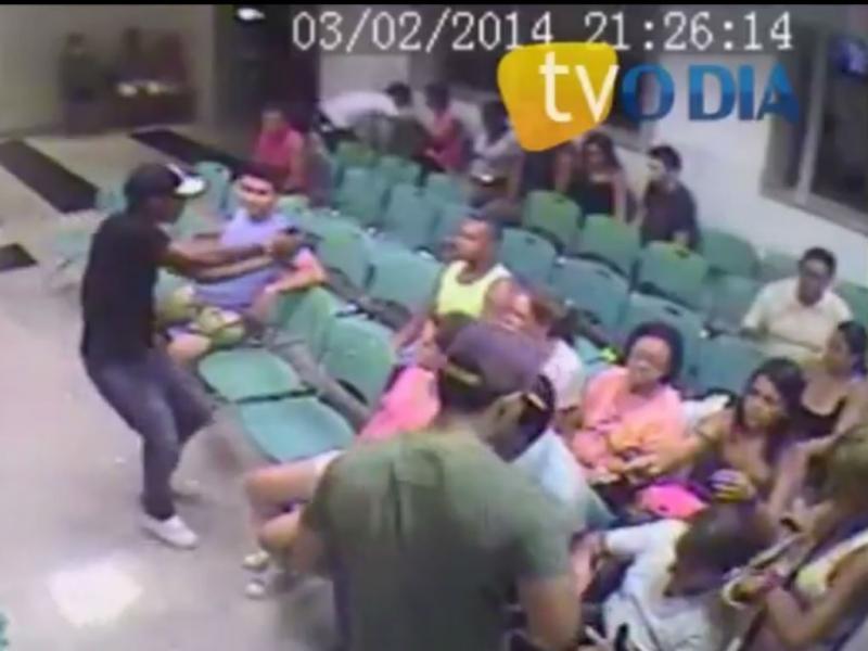 Assalto em hospital no Brasil