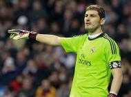 Real Madrid vs Atlético de Madrid: Iker Casillas (EPA)