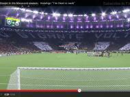 Mosaico dos adeptos do Botafogo
