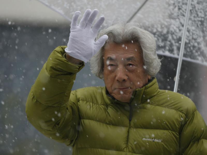 Nevão no Japão (REUTERS)